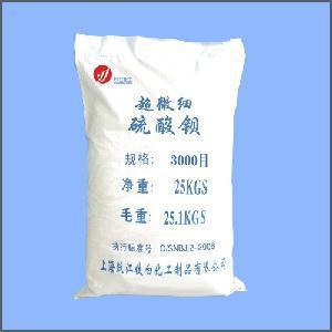 Super Fine Barium Sulfate (Barite) (3000 Mesh) Manufactures