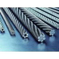 Wear Resistance Galvanized Steel Wire Rope For Ship , Derricking 7 X 7 Manufactures