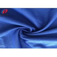 China Eco Friendly Polyester Spandex Fabric Single Jersey Knit Terry Fabric For Suit on sale