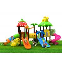 Funny Climb Sliding Safety Kids Outdoor Playground Equipment Non - Toxic Manufactures