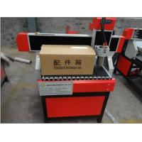 Small 6090 wood cylinder engraving machine cnc router 4 axis for cylinder Manufactures