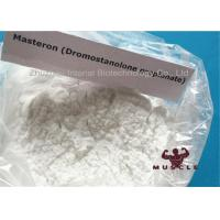 Drostanolone Steroid Masteron Injectable Steroids Drostanolone Propionate For Bulking , CAS 521-12-0 Manufactures