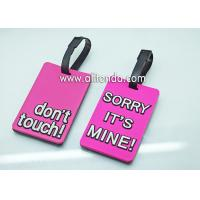 In-stock promotional luggage tag for sale don't touch sorry it's mine hands off i'm a mess on the inside luggage tag