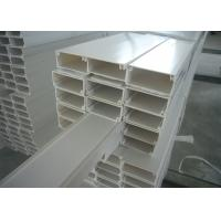White Grey PVC Electrical Cable Tray Lvd For Wiring Wire Duct Manufactures