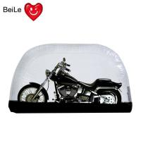 Buy cheap Folding bubble transparent PVC inflatable motorcycle tent cover from wholesalers