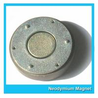 Small Thin Custom Neodymium Magnets Strong Round Flat Ndfeb Magnet 15mmX1mm Manufactures