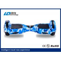 High Stability 10 Inch Self Balancing Scooter Two Wheel Big Tire 130 Kgs Max Load Manufactures