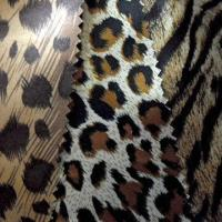 100% Poly Satin Fabric with Classic Leopard Print, Sexy Charming and Eye-catching for Garment Lining Manufactures