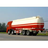 China carbon steel oil storage tank 45000Liters 3 axles oil tanker semi trailer Manufactures