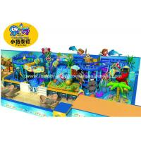 China Customized Children Indoor Playground Equipment Soft Play In Ocean Style on sale