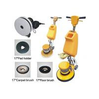 China Electric Single Disc Carpet Floor Cleaning Machine , Aluminium Chassis on sale