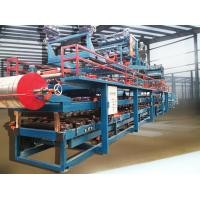 Colored Steel Foamed Sandwich Panel Roll Forming Machine Hydraulic Cutting Manufactures