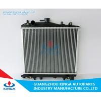 Finned Hyundai Radiator Replacement Kia Pride 93 Custom Aluminum Radiators 16/26mm Thick Manufactures