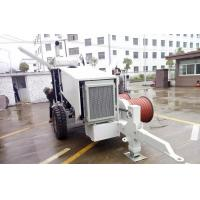 China Overhead Stringing Hydraulic Puller Tensioner SA-YQ60 Model With Diesel Engine on sale