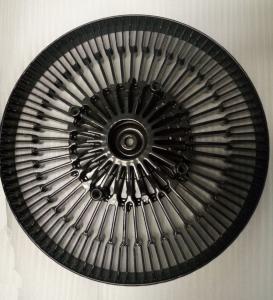 Aluminum Die Casting HeatSink Black Power Coated Die Cast Process Heat Sink For Led Fixture Manufactures