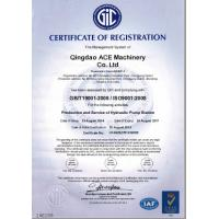 ACEMachinery Co., Ltd Certifications