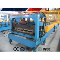 China High Speed Yield Stress Roofing Tile Roll Forming Machine 230 - 300 Mpa on sale