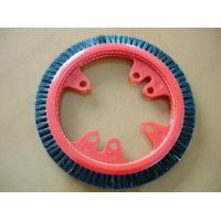Customized Plastic Monforts Stenter Brushes 3 Rows Inner Diameter 7cm Manufactures