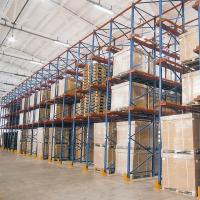 Steel Q235 Material Drive In Racking System Heavy Duty Metal Shelving Manufactures