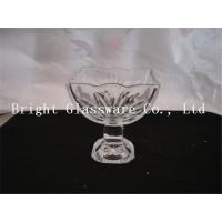 new design ice cream glass cup, glass ice cream bowl Manufactures