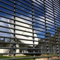 PVC Powder Coated/Galvanized 358 Security Welded Wire Mesh Fence Panels Manufactures