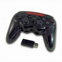 Wireless Controller for Sony's PS3, Ergonomically Designed and Four Controller Port Indicator LEDs Manufactures