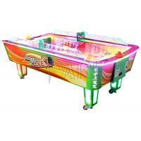 Quality Curve Surfuce Air Hockey 2 Players Coin Operated Machine / Ticket Redemption Games for sale