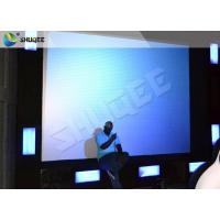 Ex - aggerative Motion 9D Cinema System 9D Simulator For Wonderful 9D Movies Manufactures