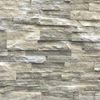 Cultured Marble Stone Natural stone Cloudy Grey Marble Culture Stone, Ledge Panel WSM-011 Manufactures