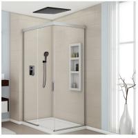 8-12 Inch Concealed Shower Faucet , Solid Brass Ceiling Shower Faucet Three Modes Manufactures