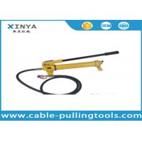 Model CP-700 Hydraulic Hand Pump For Hydraulic Crimping tools 700bar 1000Psi Manufactures