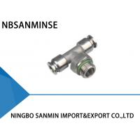 Metric High Flow Stainless Steel Air Fittings - 20 ℃ - 140 ℃ Temperature Manufactures