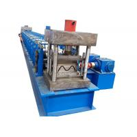 China 16T Highway Guardrail Machine , Two Waves Metal Sheet Roll Forming Machine on sale