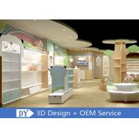 Lovely Kids Clothing Store display Furniture With Led Lighting Easy Install Dis - Assembly Manufactures