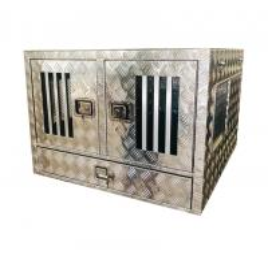 China Heavy Duty Aluminum Dog Box For UTE / ATV / UTV Customization Available on sale