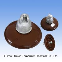 High voltage Porcelain Cap and Pin Suspension Insulator 52-3 Manufactures