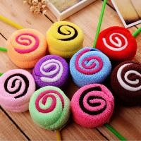 colorful cotton lollipop shape cake towel candy towel Manufactures