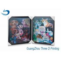 China 3D Printing Lenticular Flip Effect Cute Cat Changing Images on sale