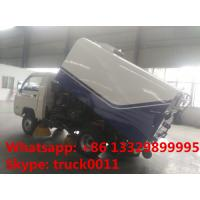 China forland mini 4*2 LHD 1m3 street sweeper truck for sale, hot sale forland mini road sweeper truck with cheapest price for sale