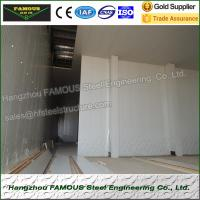 Insulated Embossed Aluminum Polyurethane Sandwich Panel 200mm Cold Room Manufactures