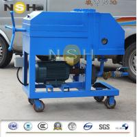 Plate Frame Lubricating Oil Filter , Pressure Filter Lube Oil Purification Machine Manufactures