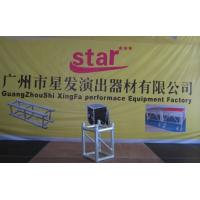 Aluminum Alloy 6082-T6 Quick Lock 300mm X300mm Spigot  Truss With Welding Manufactures