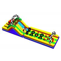 Racing Car Inflatable Obstacle Course Blow Up Water Obstacle Course Manufactures