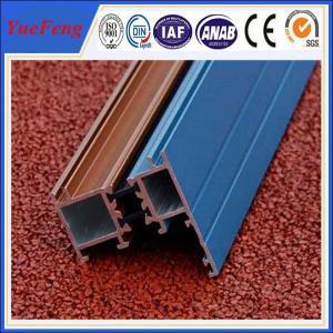 China aluminium sliding doors accessories profile,powder coating aluminium profiles Manufactures