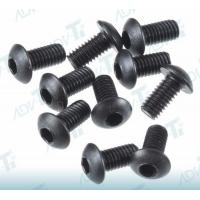 Internal Hex Titanium Screw Button Head Screw Black Oxidation Manufactures