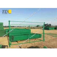 China Cold Galvanized Iron Barbed Wire Mesh Chain Link Fence For Railway / Highway on sale