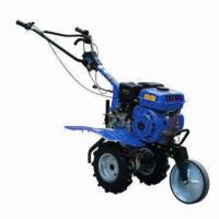 Mini Tiller, 170F Gasoline Engine and Alloy Material, CE-certified Manufactures