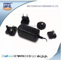 Switching 12v Power Adapter , Interchangeable Plug Power Adapter AC DC Manufactures