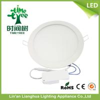 RoHS Round 8w Flat Panel LED Lighting , Multicolor LED Panel Ceiling Lights Manufactures