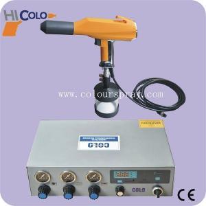 CE Electrostatic Pulse Type Portable Powder Coating Machines Manual Powder Coating System Manufactures